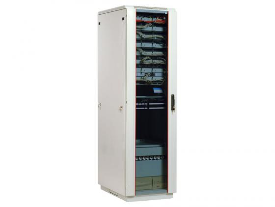 Шкаф напольный 33U ЦМО ШТК-М-33.6.8-1ААА 600x800mm дверь стекло серый 3 коробки