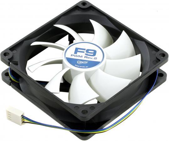 все цены на Вентилятор Arctic Cooling Arctic F9 PWM Rev.2 92мм 1800об/мин онлайн