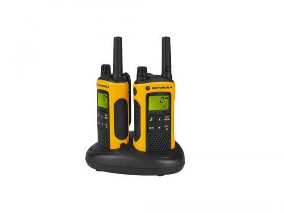 цена Радиостанция Motorola TLKR-T80EXT Комплект из двух радиостанций MT125