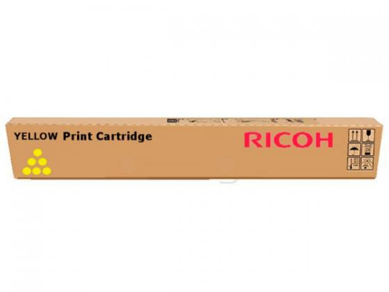 Тонер-картридж Ricoh MPC3501E/MPC3300E для Ricoh Aficio MPC3001/C3501/MPC2800/C3300 желтый 16000стр tprhm mp4000 premium laser copier toner powder for ricoh aficio mp5002sp for gestetner dsm735e dsm745e 1kg bag free fedex
