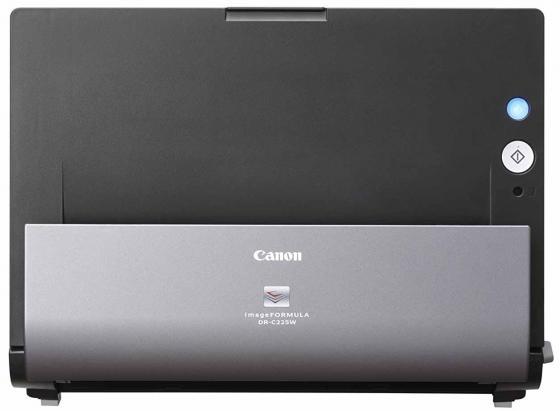 Фото Сканер Canon DR-C225 протяжный CIS A4 600x600dpi 25стр/мин USB 9706B003 черный