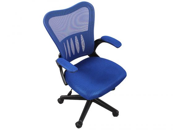 Кресло College HLC-0658F ткань синий кресло компьютерное college hlc 0370 black