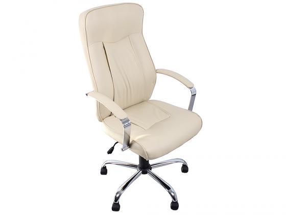 Кресло руководителя College H-9152L-1 экокожа бежевый цена 2017