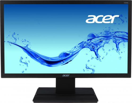 Монитор 22 Acer V226HQLBD черный TN 1920x1080 250 cd/m^2 8 ms DVI VGA монитор 27 acer g276hljbid черный tn 1920x1080 250 cd m^2 5 ms dvi hdmi vga