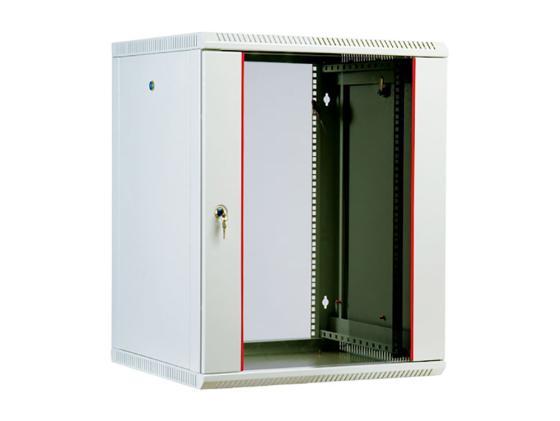 Шкаф настенный разборный 12U ЦМО ШРН-М-12.500 600x520mm дверь стекло шкаф цмо напольный разборный 19 27u 600x600мм дверь стекло
