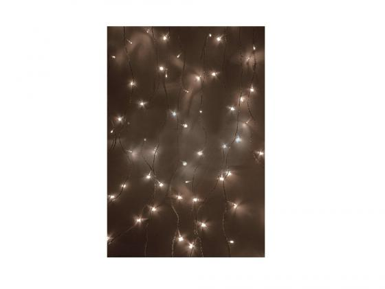 Гирлянда Светодиодный Дождь 235-026 1.5х1м свечение с динамикой белый гирлянда светодиодная neon night свечение с динамикой светодиодный дождь