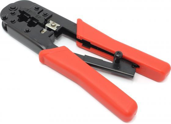 Клещи обжимные Hyperline HT568R для RJ45/12 набор инструментов hyperline ht ntk160 23370