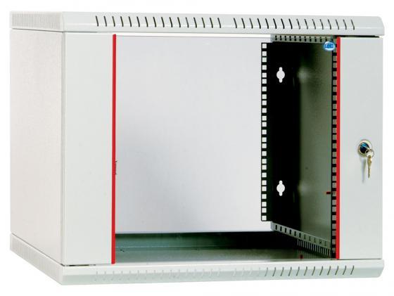 Шкаф настенный разборный 18U ЦМО ШРН-Э-18.650 600x650mm дверь стекло серый шкаф цмо напольный разборный 19 27u 600x600мм дверь стекло
