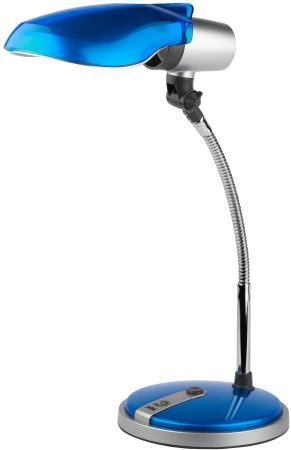 Настольная лампа ЭРА N-301 15Вт синий NE-301-E27-15W-BU