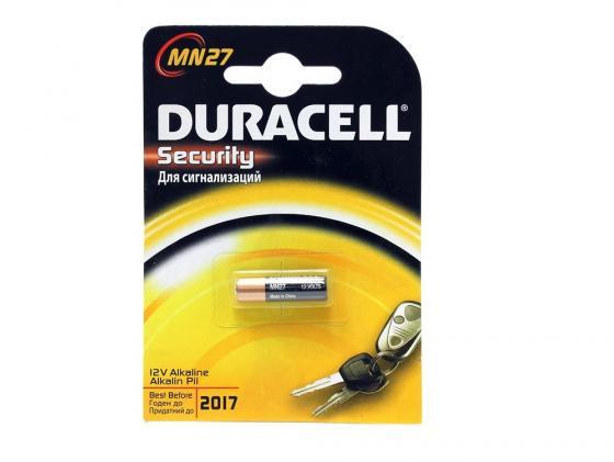 Батарейка Duracell Security MN27 1 шт батарейки duracell mn27 b1 security 12v alcaline
