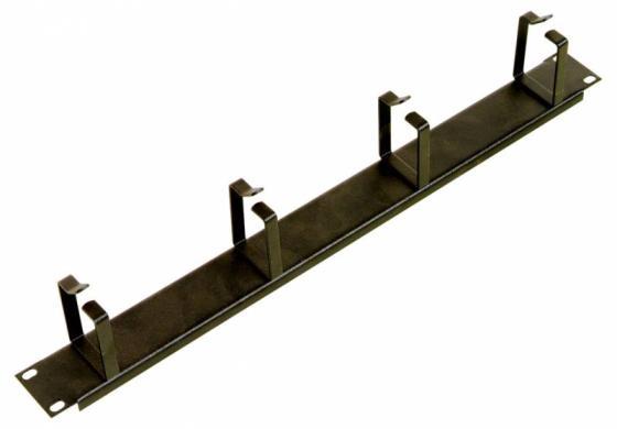 Горизонтальный кабельный органайзер ЦМО ГКО-4.62 19 1U без окон 4 кольца ГКО-4.62-9005 черный горизонтальный кабельный органайзер цмо гко 4 62 19 1u 4 кольца черный гко 4 62 9005