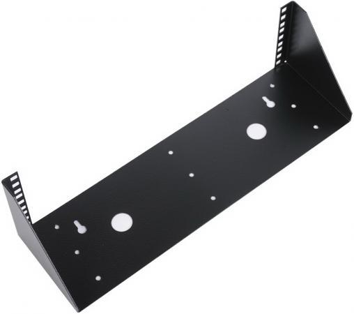 ЦМО Кронштейн телекоммуникационный КНО-В-4U-9005 настенный вертикальный 4U черный