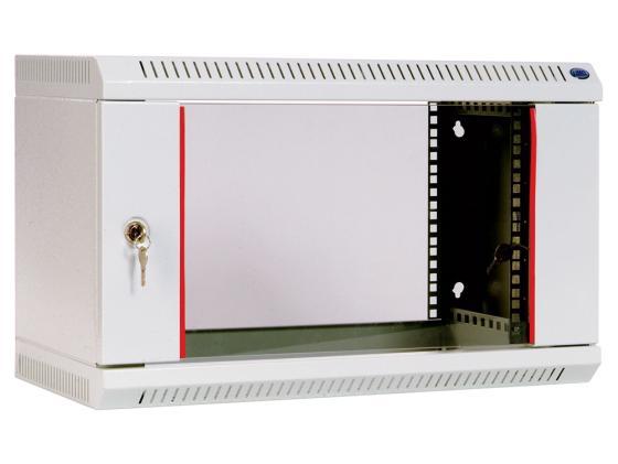 Шкаф настенный 6U ЦМО ШРН-6.300 600х300mm дверь стекло шкаф изотта 23к дверь правая ангстрем