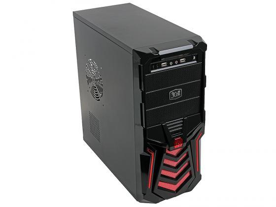 все цены на Корпус ATX 3Cott 3C-ATX110GR 500 Вт красный чёрный