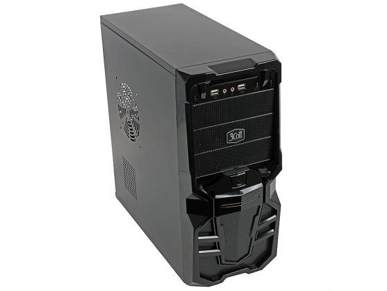 Корпус ATX 3Cott 3C-ATX113G Goth 500 Вт чёрный бп atx 500 вт 3cott 3cott 500 evo v2 3