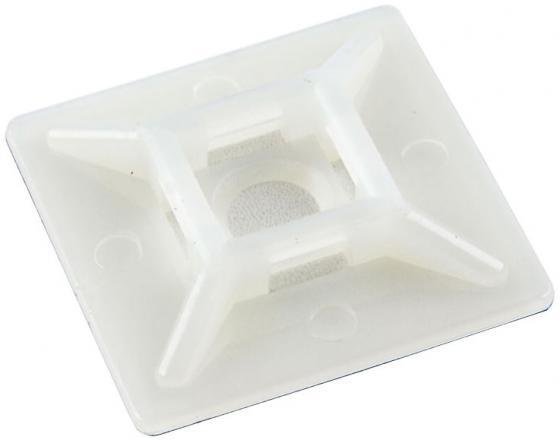 цена на ЦМО Самоклеящаяся площадка для крепления стяжек 19x19 100ш HC-101/ПК-20