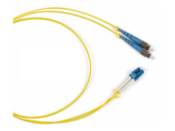 Патч-корд Hyperline FC-9-FC-LC-UPC-1M волоконно-оптический шнур 1м shanze samzhe gq 8005 волоконно оптические перемычки fc st одномодовые одноядерные 3 метра