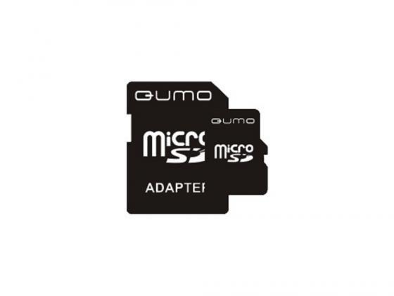 Карта памяти Micro SDHC 16Gb class 4 QUMO QM16GMICSDHC4 карта памяти sdhc micro sony sr 32uya