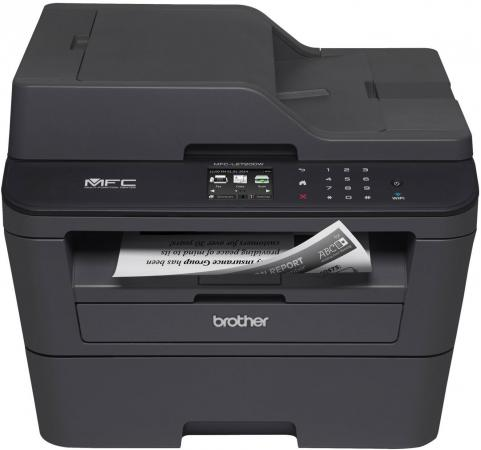 Фото - МФУ Brother MFC-L2720DWR ч/б A4 30ppm 2400x600dpi дуплекс Wi-Fi USB б милн евангелие от иоанна
