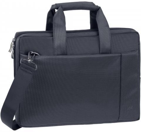 Фото - Сумка для ноутбука 13 Riva 8221 полиэстер черный сумка для ноутбука 16 riva 8290 полиэстер черный