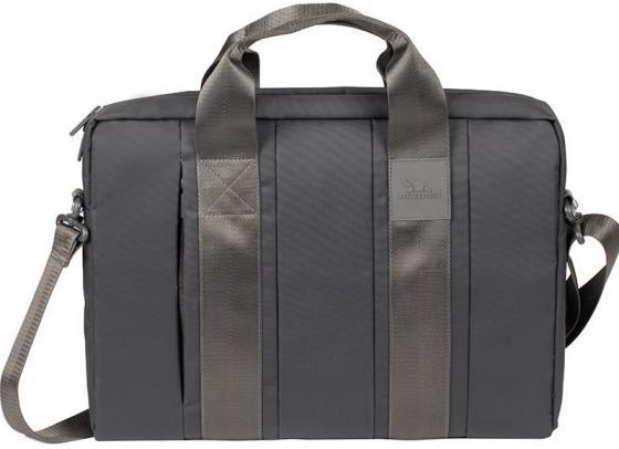 Сумка для ноутбука 15 Riva 8830 полиэстер серый сумка для ноутбука riva 8431 15 6 полиэстер черный