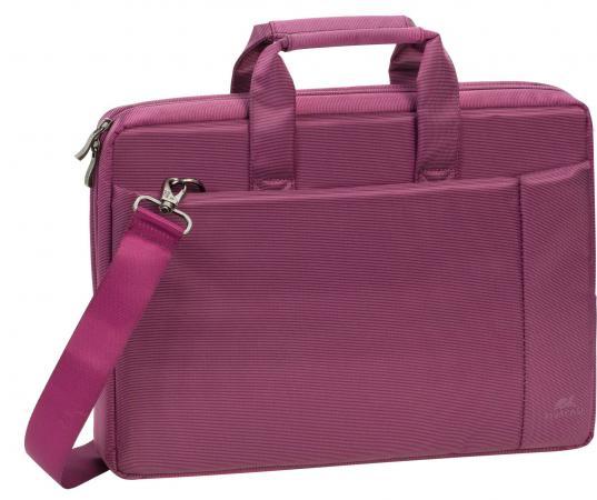 "цена на Сумка для ноутбука 13"" Riva 8221 полиэстер пурпурный"