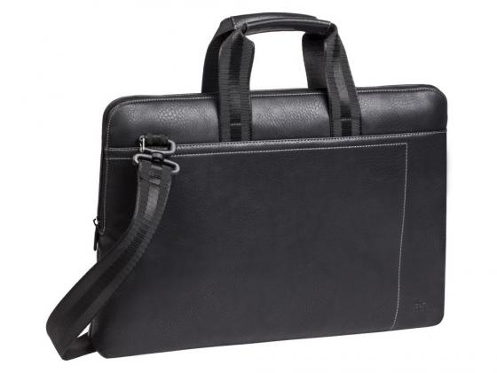 Сумка для ноутбука 15 Riva 8930 полиэстер черный сумка для dslr камер riva 7228 black red