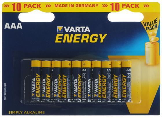 Батарейки Varta Energy AAA 10 шт