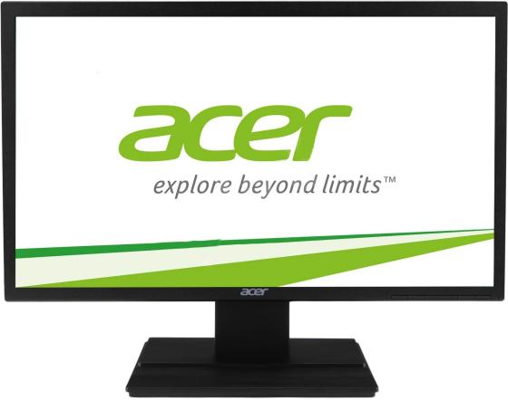 Монитор 22 Acer V226HQLBBD черный TFT-TN 1920x1080 200 cd/m^2 5 ms VGA DVI монитор 19 hp v196 черный tft tn 1366x768 200 cd m^2 5 ms dvi vga