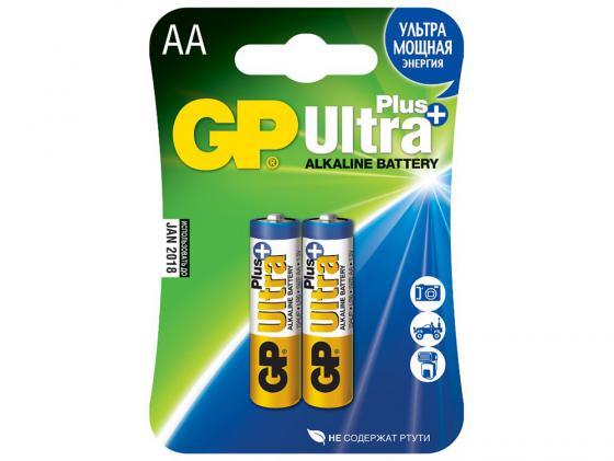 Батарейки GP Ultra Plus 15AUP-2CR2 AA 2 шт цена и фото