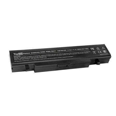 Аккумуляторная батарея TopON TOP-R519H 6600мАч для ноутбуков Samsung R425 R428 R430 R468 R470 R478 R480 R505 R507 R510 R517 R519 R522 R528 R730 RV410 RV440 RV510 RF511 RF711 аккумулятор samsung r428 r429 r430 r463 r464 r465 r466 r467 r468 r469 r470 r480 r590 p480 aa pb9ns6b pb9nc6b pitatel 4400mah bt 956b