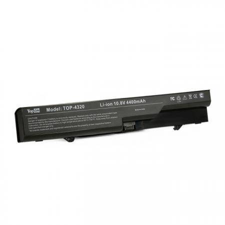 Аккумуляторная батарея TopON TOP-4320 4800мАч для ноутбуков HP 425 4320t 625 ProBook 4320s 4321s 4325s 4326s 4420s 4421s 4425s 4520s 4525s Compaq 320 321 325 326 420 421 620 621 цена