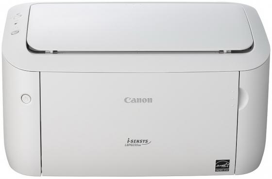 Принтер Canon I-SENSYS LBP6030W ч/б A4 18ppm 600х600dpii WiFi USB 8468В002 принтер canon i sensys colour lbp653cdw лазерный цвет белый [1476c006]
