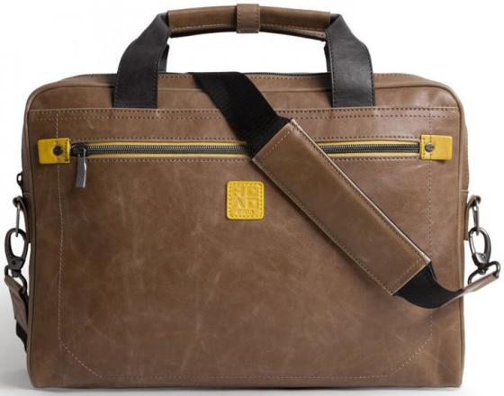 Сумка для ноутбука 16 Golla Matt полиуретан коричневый G1574 сумка golla garden s g277 blue