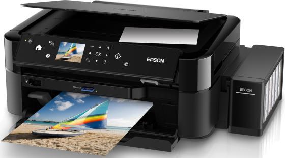МФУ Фабрика печати EPSON L850 цветное A4 37ppm 5760x1440dpi USB C11CE31402 мфу epson l222 стр сканер копир фабрика печати 27ppm 5760x1440dpi струйный a4 usb 2 0
