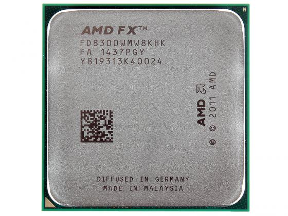 Процессор AMD FX-8300 3.3GHz Socket AM3+ OEM FD8300WMW8KHK процессор amd a4 5300 ad5300oka23hj socket fm2 oem