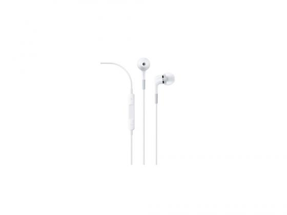все цены на Наушники Apple In-ear Headphones with Remote and Mic ME186ZM/В онлайн