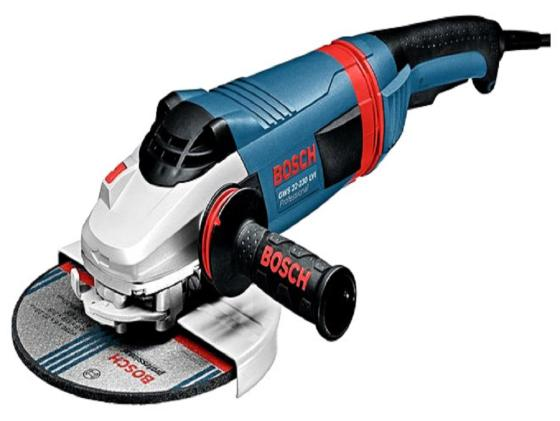 Угловая шлифмашина Bosch GWS 22-180 LVI 2200Вт 180мм 0601890D00 угловая шлифовальная машина bosch gws 24 230 lvi professional