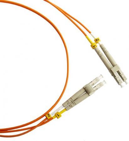 лучшая цена Патч-корд Hyperline FC-50-LC-LC-PC-5M волоконно-оптический шнур 5м