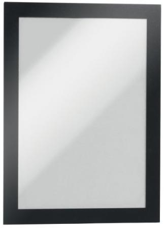 Магнитная рамка информационная Durable Magaframe настенная А5 черный 10шт 488101
