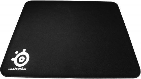 Коврик для мыши Steelseries QcK Mass черный  63010 steelseries qck heavy rag rubber base 63008