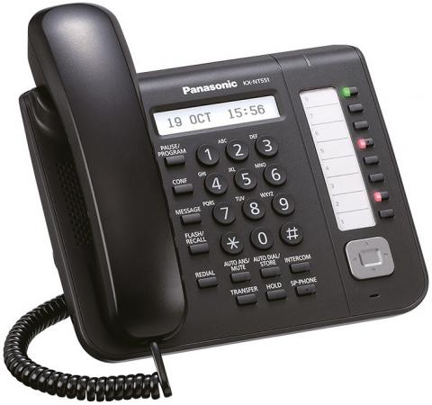 Фото - Телефон IP Panasonic KX-NT551RU проводной и dect телефон foreign products vtech ds6671 3