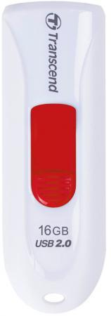 Флешка USB 16Gb Transcend JetFlash 590 TS16GJF590W белый флешка usb 16gb transcend jetflash 590 ts16gjf590w белый