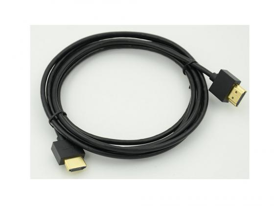 Кабель HDMI 5м Gold Plated Connector Ver1.4 Ultra Slim 19pin/19pin ферритовые кольца позолоченные контакты 966073 zndiy bry gold plated banana plug jack connector set golden 6 0mm 5 pairs