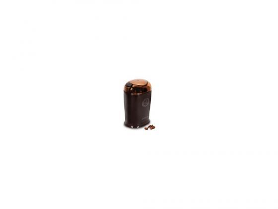 лучшая цена Кофемолка Polaris PCG 1017 150Вт коричневый