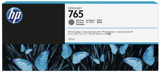 Картридж HP F9J54A №765 для HP Designjet T7200 темно-серый 775мл древпром стул древпром скалли d6 темно серый uqiod hp
