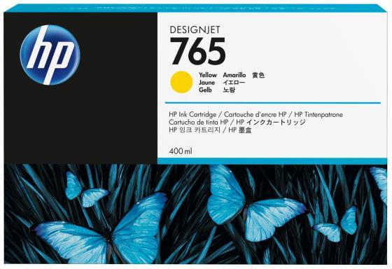 Картридж HP F9J50A №765 для HP Designjet T7200 желтый 400мл hp 765 matte black f9j55a