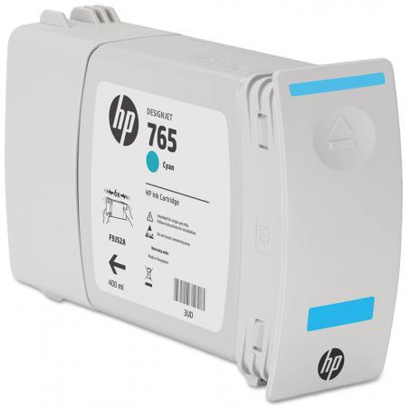 Картридж HP F9J52A №765 для HP Designjet T7200 голубой 400мл картридж для струйных аппаратов hp 765 f9j53a серый для hp designjet t7200 400мл f9j53a