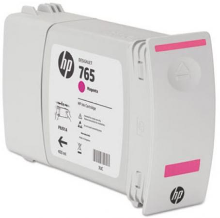 Картридж HP F9J51A №765 для HP Designjet T7200 пурпурный 400мл картридж hp f9j53a 765 для hp designjet t7200 серый 400мл