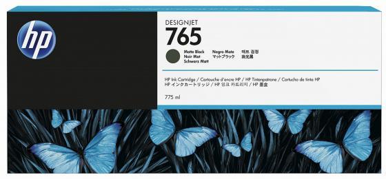 Картридж HP F9J55A №765 для HP Designjet T7200 черный матовый 775мл hp 765 matte black f9j55a